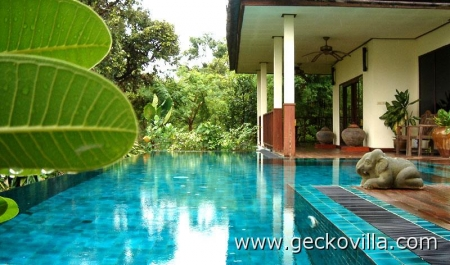 Gecko Villa - great for families!